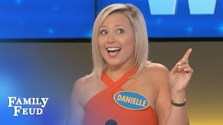 You GOUDA check this stripper out! | Family Feud