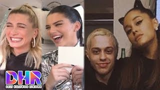 Download Video Kendall Jenner LIED to by Hailey Baldwin?! - Ariana Grande and Pete Davidson BREAKUP (Weekly DHR) MP3 3GP MP4