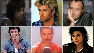 Top Male Singers of the '80s