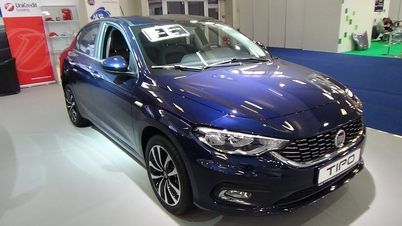2018 fiat tipo opening edition plus 1 4 exterior and interior auto salon bratislava 2018 - Fiat tipo interior ...