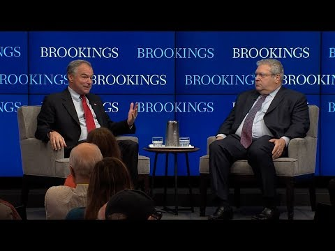 A 21st century Truman Doctrine?: U.S. foreign policy with Senator Tim Kaine