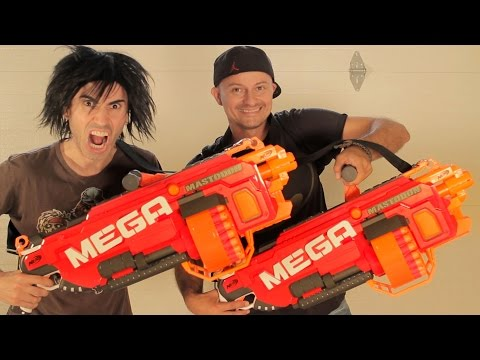 Thumbnail: Nerf War: BIG GUNS!
