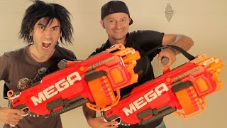 Nerf War: BIG GUNS!