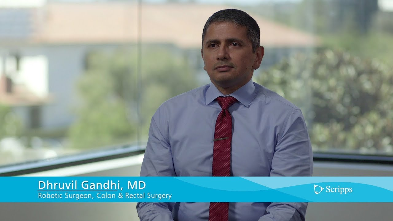 Scripps Health Colorectal Robotic Surgeon Dhruvil Gandhi, MD #Generalsurgery
