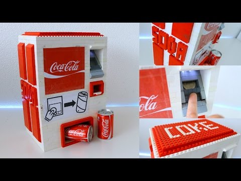 Thumbnail: LEGO NXT CocaCola Soda Machine