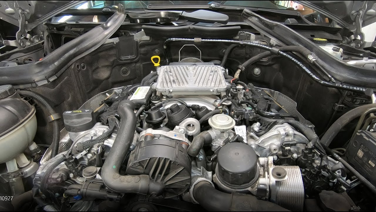 Replacing Intake Manifold on Mercedes-Benz C300 and C350 2008 - 2014 (W204)