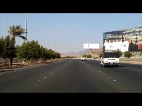 Traveling to Makkah from Jeddah by Road with Urdu Subtitles