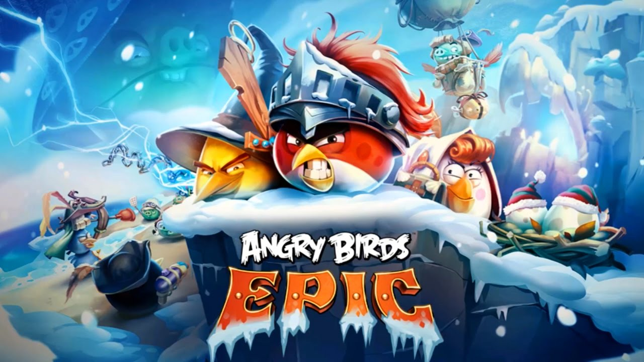 angry birds epic rpg winter wonderland new update games for