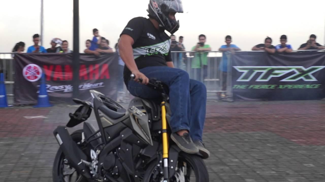 Yamaha Ftx 150 >> Yamaha Tfx 150 Stunt Show 2 Youtube