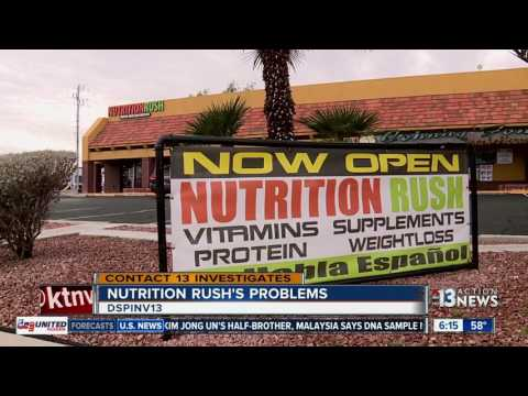 Nutrition Rush accused of shady practices, unsanitary conditions