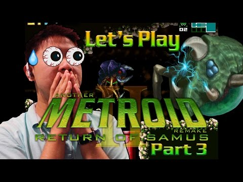 A Wild Gamma Metroid Appears! Let's Play AM2R Part 3!