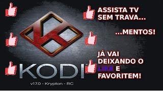 Kodi Sem Travamentos | Assista TV à Vontade