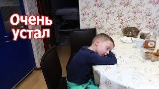 VLOG: Что мы едим / Клим с ног свалился