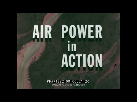 """THE U.S. AIR FORCE IN VIETNAM 1966 """"AIR POWER IN ACTION"""" 71232"""