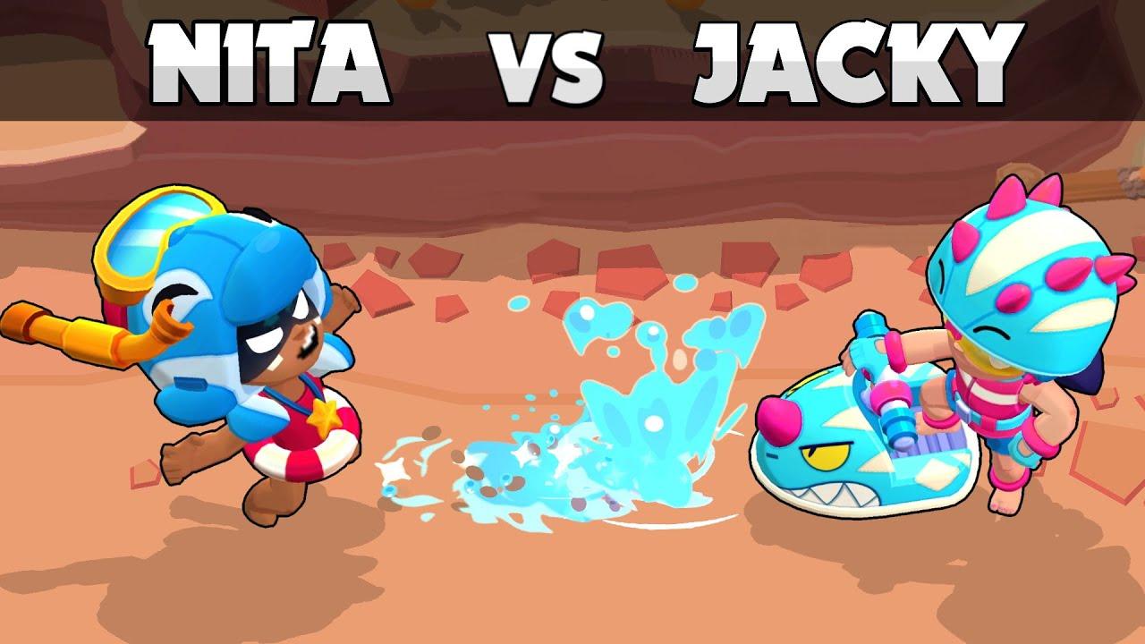 💦 NITA vs JACKY  💦 1vs1 💦 Temporada 7