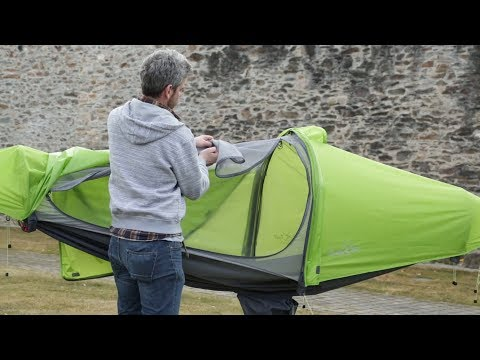 flying tent - video manual - step by step