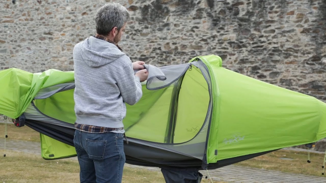 flying tent - video manual - step by step & flying tent - video manual - step by step - YouTube