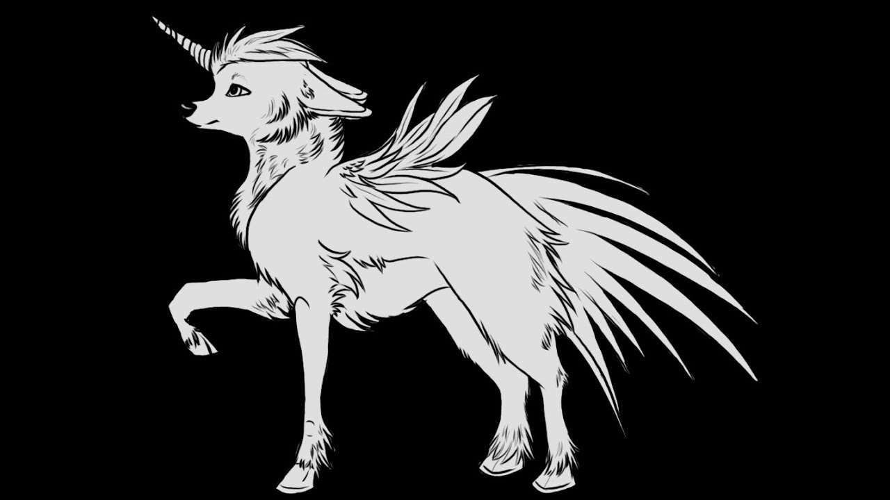 unicorn wolf in wolves life 2  youtube