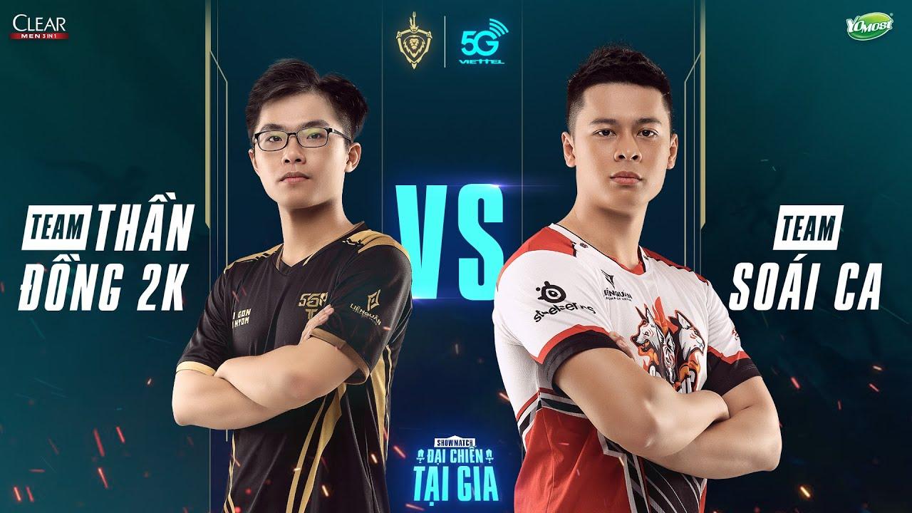 """Thần Đồng 2K vs Soái Ca [ Trận 1 – 05.04.2020 ] – Showmatch """"Đại chiến tại gia"""""""