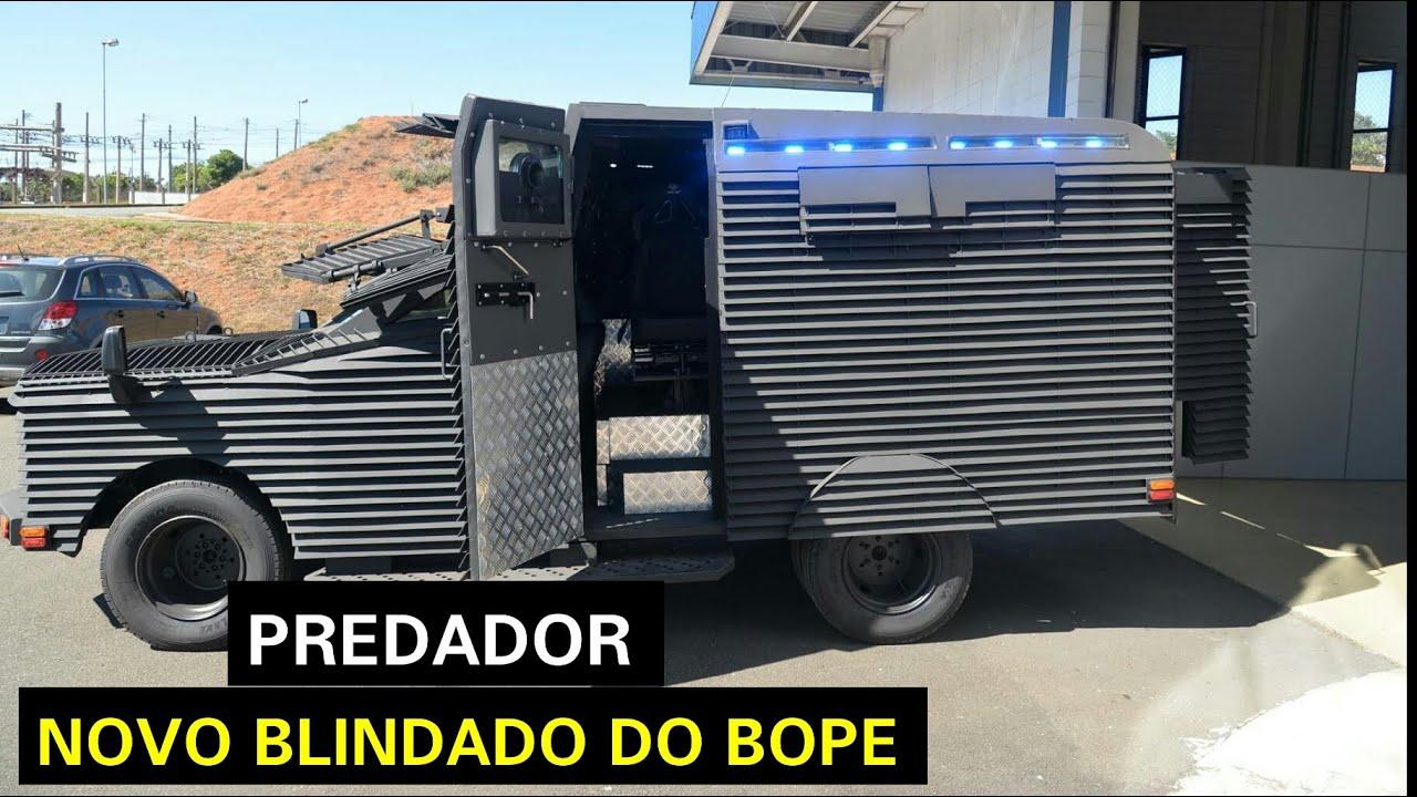 PREDADOR - Novo blindado tático do BOPE