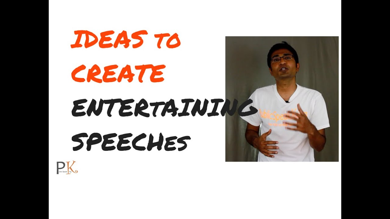 3 ways to generate entertaining speech topics (naturally