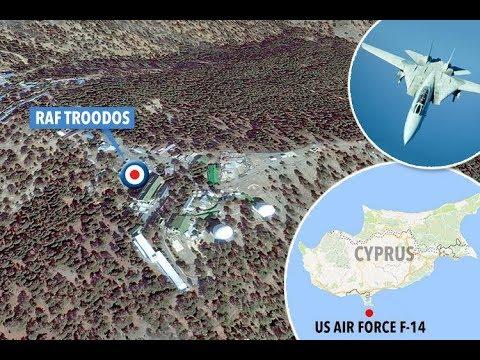 UFO INTERCEPTED BY F-14s.....NEAR RAF BASE IN CYPRUS!!!!!