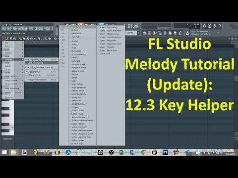FL Studio Melody Tutorial (Update): 12.3 Key Helper