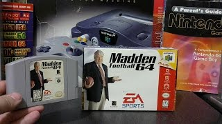 N64 Visual Review, Madden Football 64.