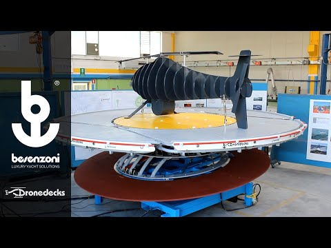 Besenzoni SpA - Dronedecks landing platform for drones