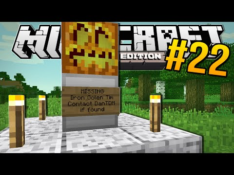 Minecraft Pocket Edition | TIM GOES MISSING!! | #22