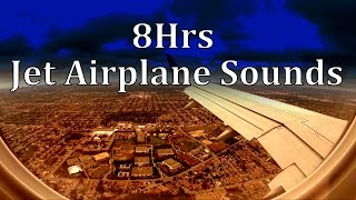8hrs of jet airplane sounds sleep sounds