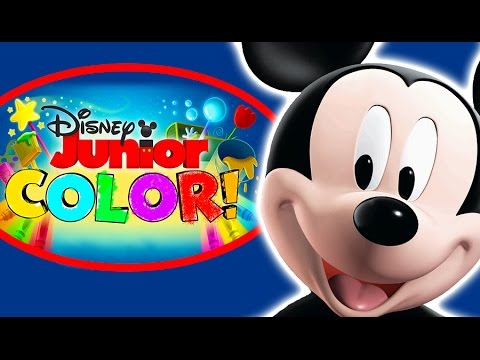 Disney Junior Color - Mickey Mouse - Coloring Book Game ...