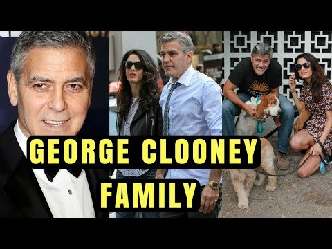 Actor George Clooney Family Photos with Spouse Amal Clooney, Former Spouse Talia Balsam and Parents