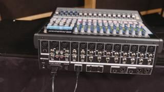 PreSonus StudioLive 1602 USB—En français
