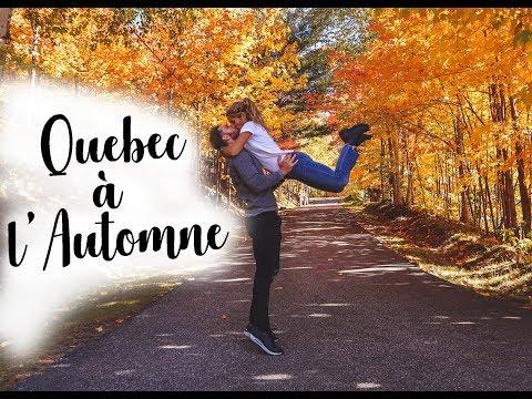 Vlog : Quebec aux couleurs de l'Automne (Charlevoix, Quebec City..)🍂