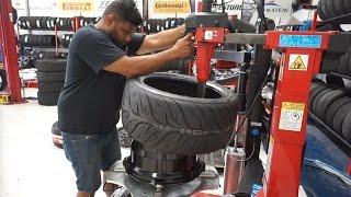 Tyres are Finally on my ENKEI RPF1s for the Honda s2000!!