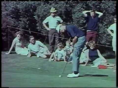 1967 Australian Open Golf Won By Peter Thomson | Commonwealth Golf Club