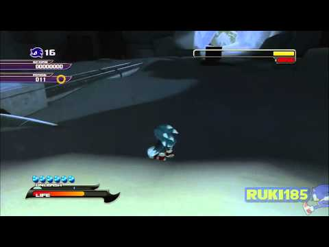 Out Of Bonds - Dark Moray Glitch - Sonic Unleashed