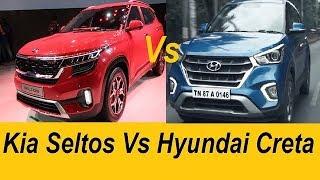 Kia Seltos vs Hyundai Creta. Review Best Buy SUV Comparison
