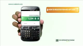 How to register for Mco-op cash using your phone
