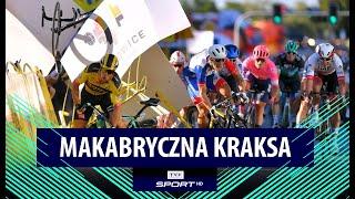 FATALNA KRAKSA na finiszu pierwszego etapu Tour de Pologne!