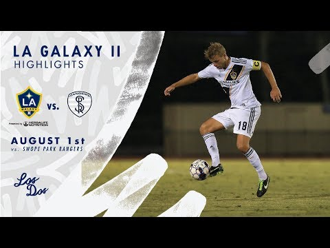 HIGHLIGHTS: LA Galaxy II vs. Swope Park Rangers   August 1, 2018
