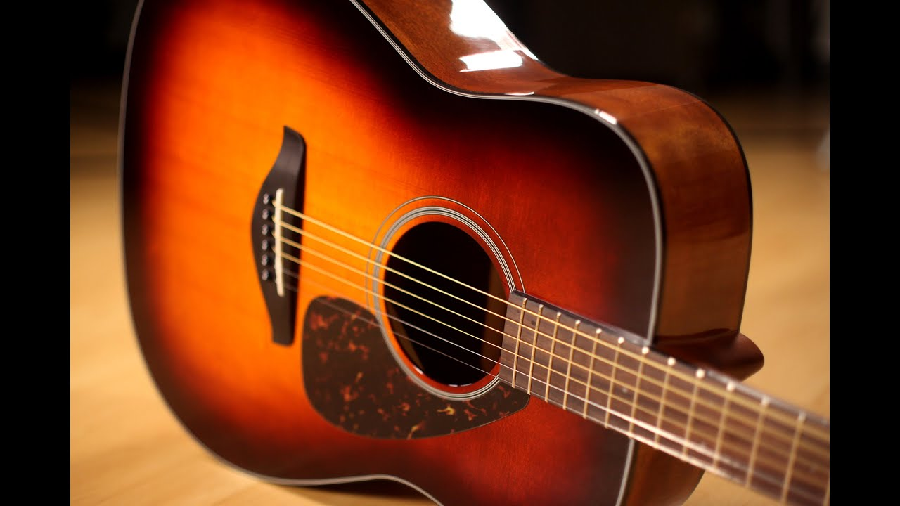 Yamaha Fg800 Acoustic Guitar In Exclusive Brown Sunburst Finish