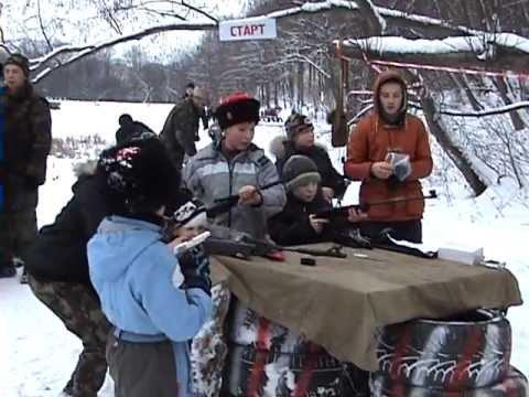 Молодежь на Казачьих состязаниях