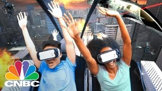 Six Flags Opens Virtual Reality Roller Coasters | CNBC