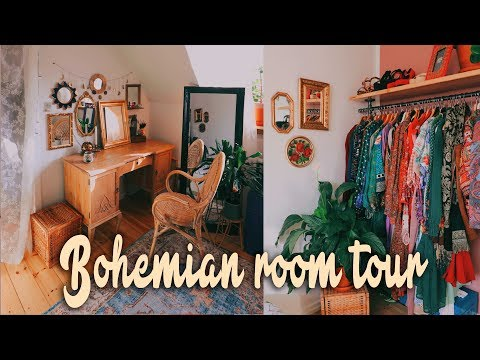 Bohemian Post Makeover Room Tour