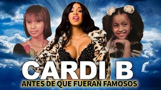 CARDI B | Before they were famous | UPDATED BIOGRAPHY