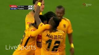 Cape Town City 0 : 2 Kaizer Chiefs, Highlights #AbsaPrem September 2017.