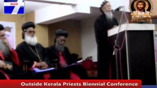 HG Gheevarghese Mar Ivaniose (Kottayam Diocese)AT OUTSIDE KERALA PRIEST CONFERENCE,CHENNAI