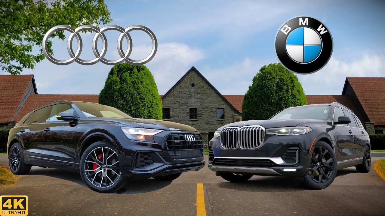 90k Flagship Fight 2019 Audi Q8 Vs 2019 Bmw X7 Comparison